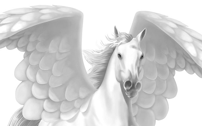 HEAVENLY HORSES: It's on its way and will be ready soon!